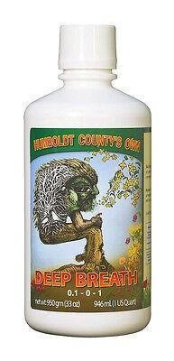 Humboldt Countys Own Deep Breath In 8Oz  32Oz  128Oz Gallon Save   W  Bay Hydro