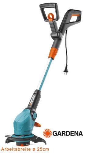 Gardena Rasentrimmer EasyCut 25cm Schnittbreite 400 W Elektro Trimmer 9807-20