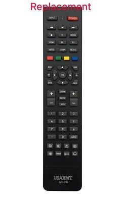 New Replaced Remote Control JVC-997 Fit For most of JVC LCD LED Smart TV