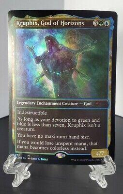 Kruphix, God of Horizons 073 Foil Mythic - Magic MTG - Theros Secret Lair SLD NM