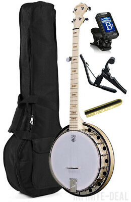 New USA Made Deering Goodtime 2 Maple 5-String Resonator Banjo Bluegrass Package comprar usado  Enviando para Brazil