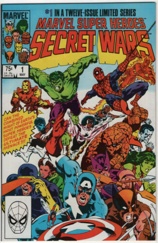 Marvel Super Heros Secret Wars #1 Marvel Comics 1984 NM (9.4)