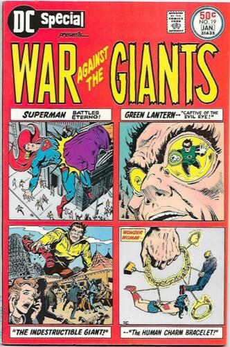 DC Special #19, DC 1975 War Against the Giants Boring, Kane, Andru VFNM