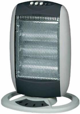 Estufa Eléctrico Halógena Cuarzo Oscilante 400-800-1200W bajo Consumo Mod.sole