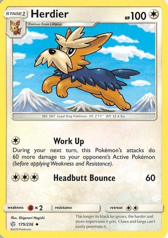 Pokemon Cards 4x Lillipup 174//236 Playset Cosmic Eclipse NM//M