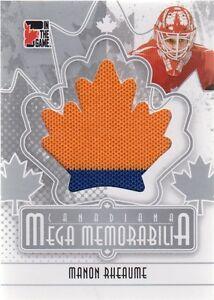 Manon-Rheaume-2011-ITG-Canadiana-Mega-Memorabilia-Jersey-Silver-90-N868