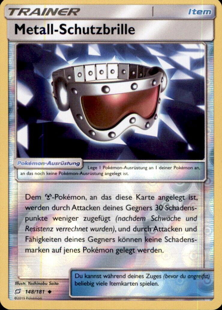 Pokemon 148/181 Metall-Schutzbrille - Reverse Holo - Deutsch