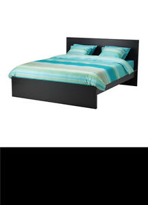 IKEA MALM High Bed with Drawers and Mattress
