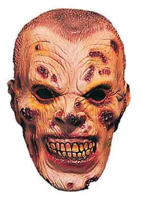 Dead Soldier Mask Zombie Military Undead Scary Halloween Adult Costume Accessory