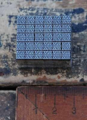 Vignetten Bleisatz Ornamente Ornament Buchdruck Zierelemente abstrakt Rauten