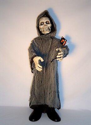 ANIMATED Grim Reaper Skeleton 36