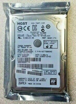 HGST 750GB Internal 5400RPM 2.5