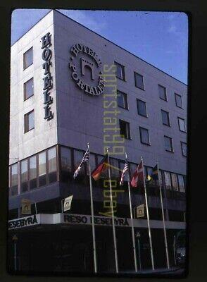 1967 Hotell Portalen - Jonkoping Sweden - Vintage 35mm Slide