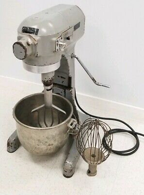 Hobart A120 12 Qt 3-speed Commercial Mixer 110v W Bowl Paddle Whisk
