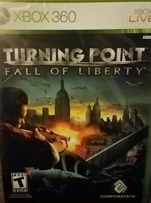 Turning Point: Fall of Liberty (Xbox 360, 2008) GAME NEW & FACTORY SEALED!!! for sale  Northwood