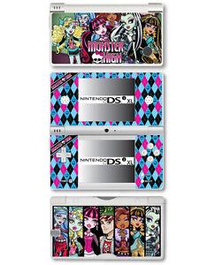 Monster High Autocollant En Vinyle Pour Nintendo Dsi Xl