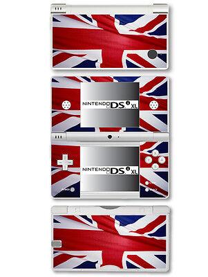 Großbritannien Flagge (Union Jack) Vinyl Skin Aufkleber für Nintendo Dsi XL