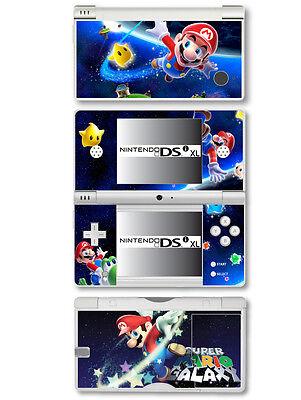 Super Mario Vinyl Sticker Skin für Nintendo Dsi XL
