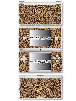 Leopardenfell Camouflage Stil Vinyl Skin Aufkleber für Nintendo Dsi XL