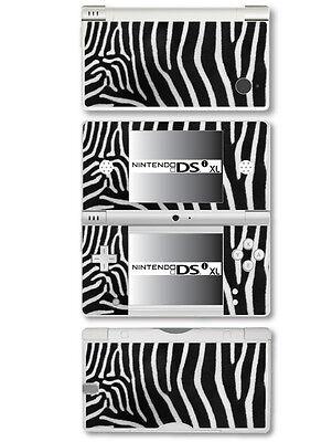 Zebra Pelz Camouflage Stil - Vinyl Skin Aufkleber für Nintendo Dsi XL