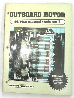 ( OUTBOARD BOAT  MOTOR SERVICE REPAIR MANUAL VOLUME 1)
