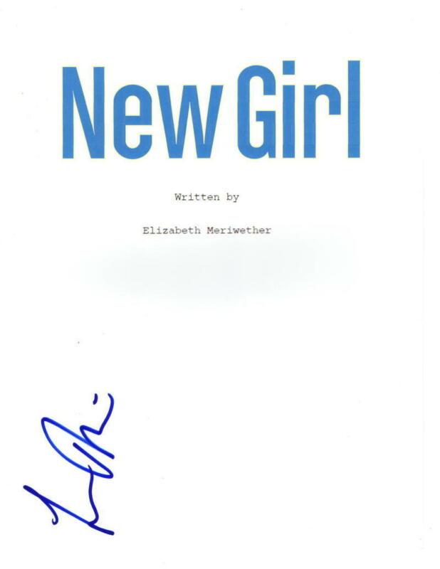 LAMORNE MORRIS SIGNED THE NEW GIRL PILOT EPISODE SCRIPT AUTHENTIC AUTOGRAPH COA