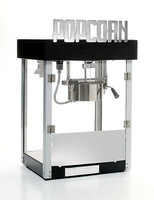 Popcorn Machine 6 Oz Black Metropolitan Art Deco