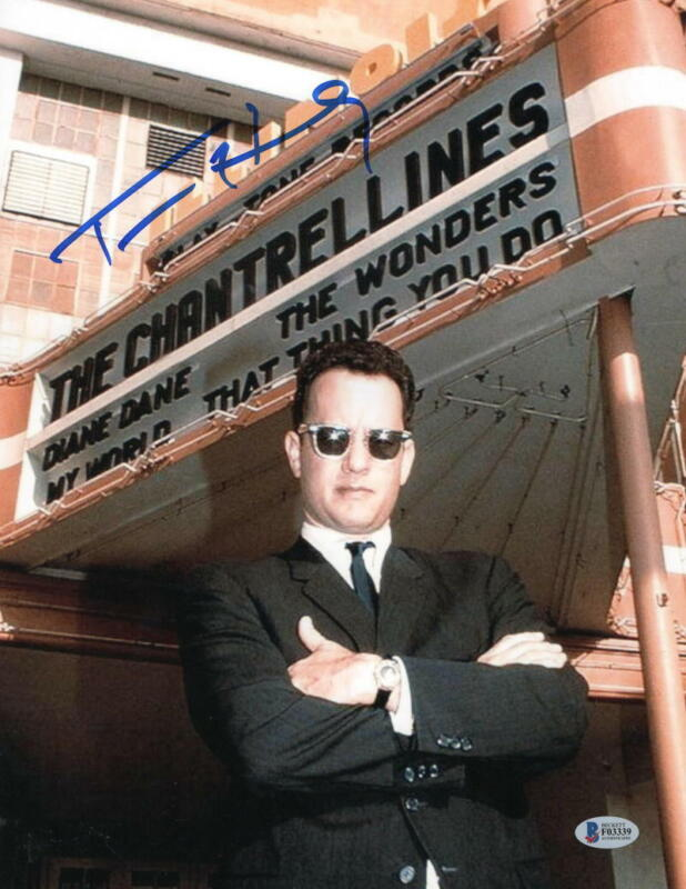 TOM HANKS SIGNED 11X14 PHOTO THAT THING YOU DO AUTHENTIC AUTOGRAPH BECKETT COA