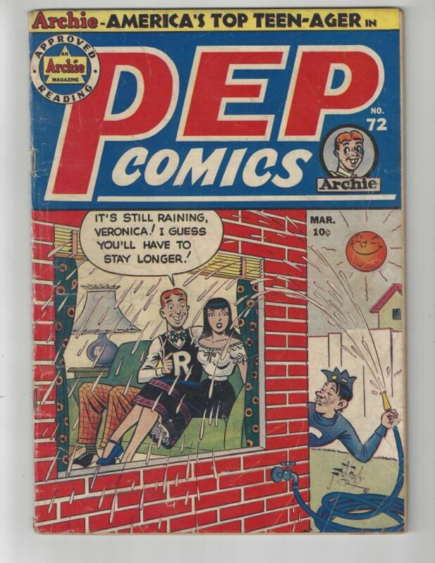 Pep Comics #72/Golden Age Archie Comic Book/VG-