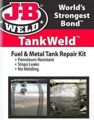 Tankweld Repair Kit Gas Fuel Metal Tank Oil Pan Stop Leak Epoxy J-b Weld 2110