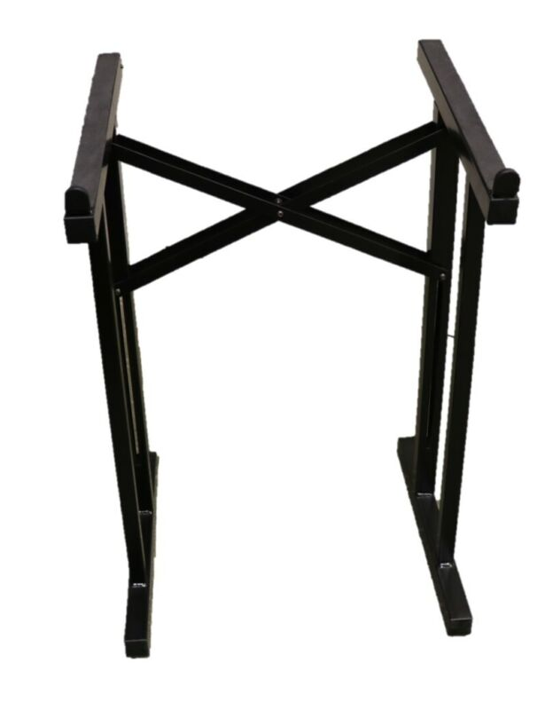 Heavy Duty Portable Collapsible DJ Mixer/Coffin Stand