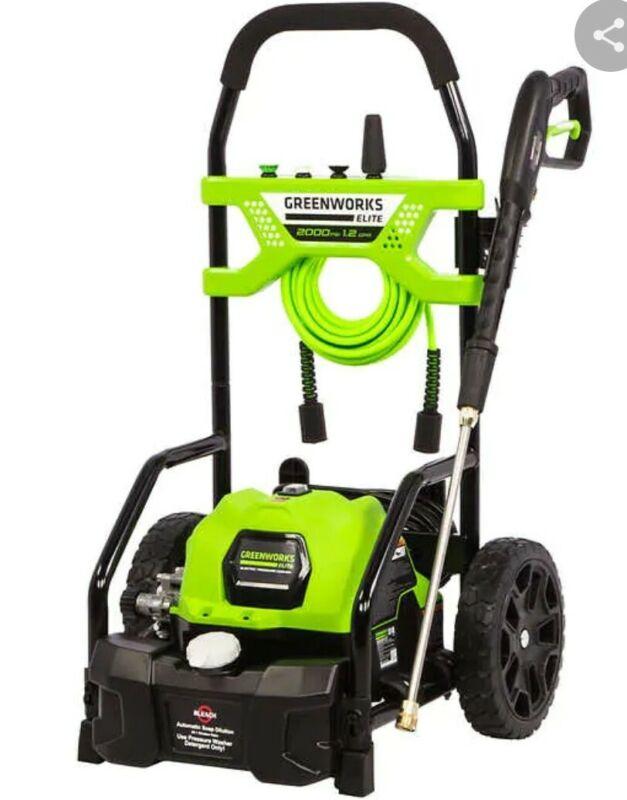 Greenworks 2000-PSI 14 AMP 1.2-GPM Electric Pressure Washer 5106202