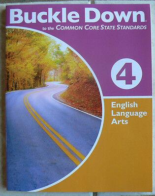 Buckle Down English Language Arts 4 4Th Common Core New Workbook 2011