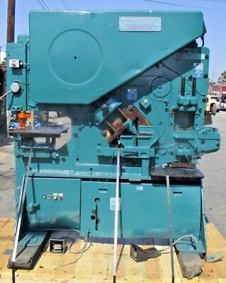 Mubea Model Kbl 88-6 Universal Ironworker 88 Ton Capacity Excellent Machine