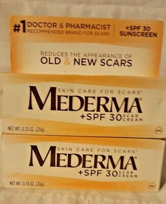 Mederma Scar Skin Care Cream 2 pk  SPF 30  (.70 oz) EXP:12/2019 & 9/20 Mederma Skin Care Cream