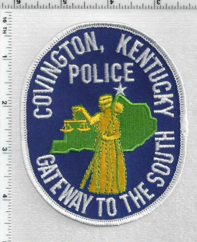 Covington Police (Kentucky) 2nd Issue Shoulder Patch