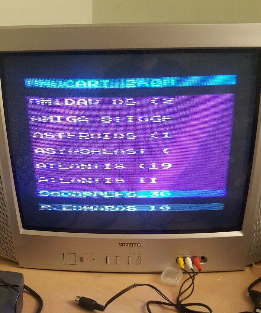 |Atari Uno Cart 2600 flash cart sd games roms UnoC…