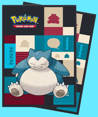 New Sleeves TD2 UP85525 Ultra Pro Pokemon Snorlax 65ct Standard Sized Sleeves