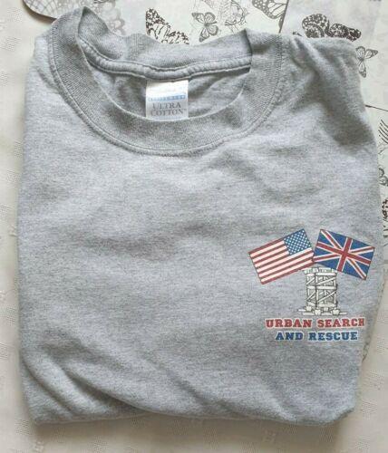 UK/USA Joint Training USAR Shirt - Grey Large Long Sleeve
