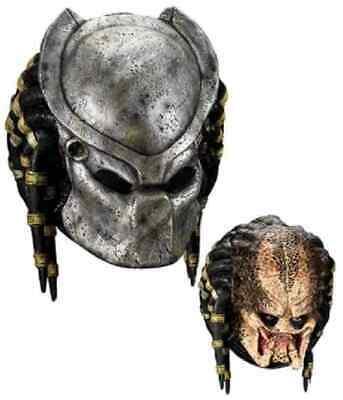 Halloween Alien Vs Predator Costumes (Predator Mask Aliens vs. Predator Movie Halloween Deluxe Adult Costume)