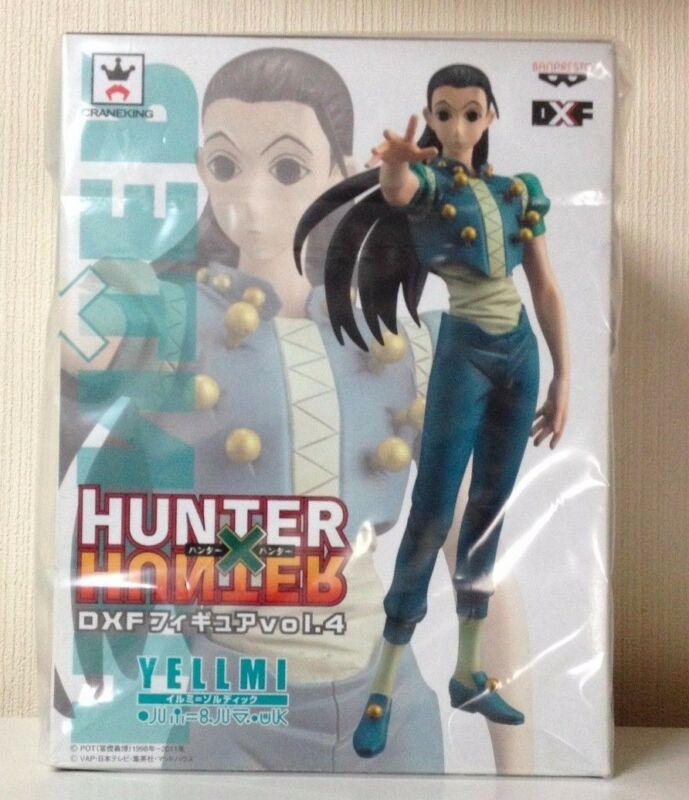 Hunter x Hunter DXF Figure 4 Yellmi/Illumi Zoldyck 17cm BANPRESTO anime JAPAN