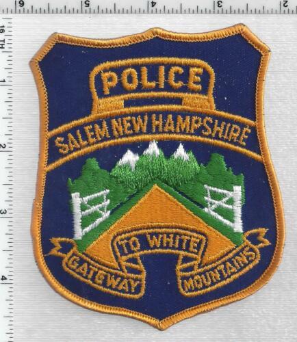 Salem Police (New Hampshire) 1st Issue Shoulder Patch