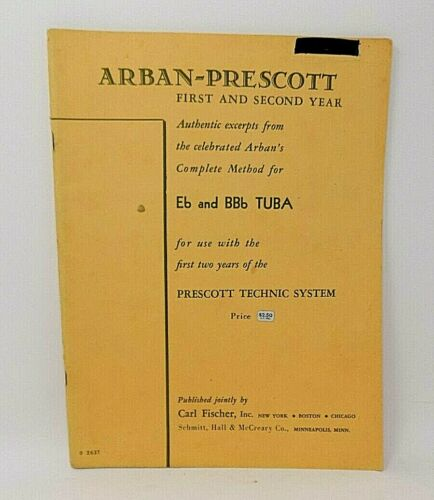 Arban-Prescott Eb & BBb Tuba - 1st & 2nd Year - Method Book