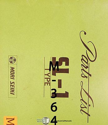 Mori Seiki Sl-1 Lathe Parts List Manual