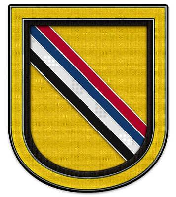 """39th Special Forces Detachment Korea Flash (SF) Group Airborne metal Sign 15x18"""""""
