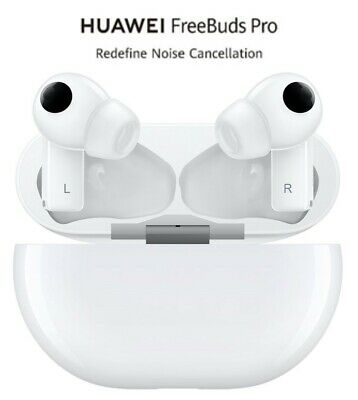 Huawei Freebuds PRO Auricolari Bluetooth Custodia con ricarica Wireless White