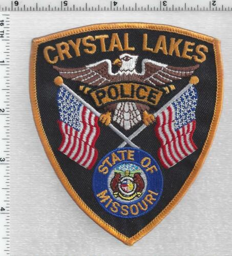 Crystal Lakes Police (Missouri) 1st Issue Shoulder Patch