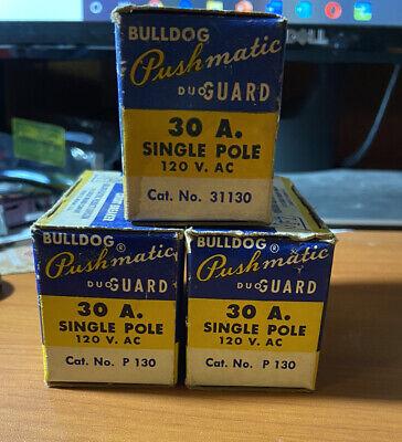 Pushmatic P130 30 Amp Single Pole Circuit Breaker