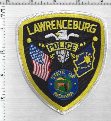 Lawrenceburg Police (Indiana) 1st Issue Shoulder Patch