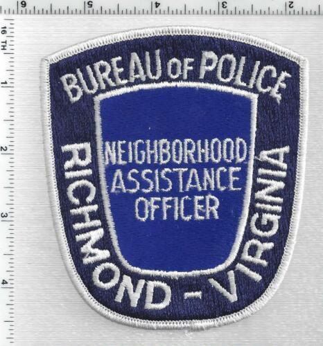 Richmond Bureau of Police (Virginia) 1st Issue Neighborhood Assistance Officer
